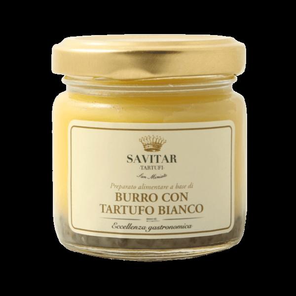 burro al tartufo bianco di savitar tartufi