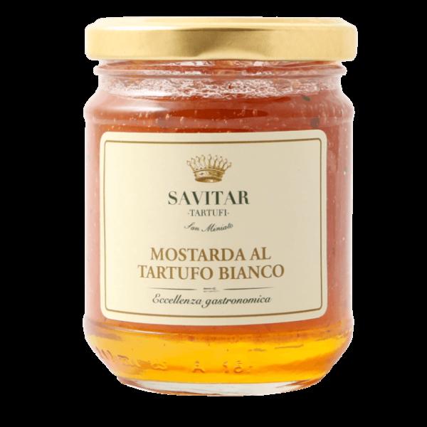 mostarda al tartufo bianco di savitar tartufi