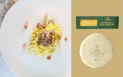 Tagliolini alla carbonara di tartufo bianchetto