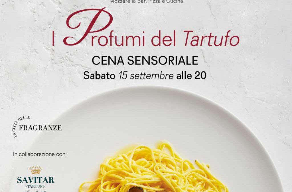 I profumi del tartufo – Cena sensoriale da Obicà Firenze