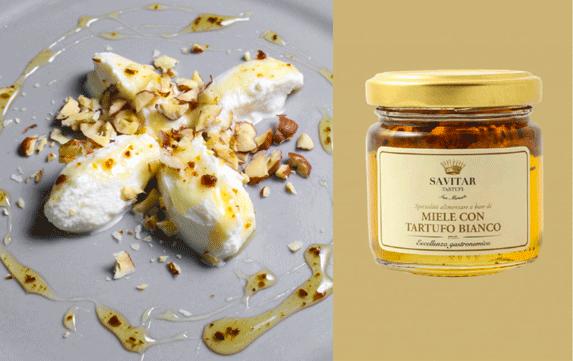 White truffle honey ricotta