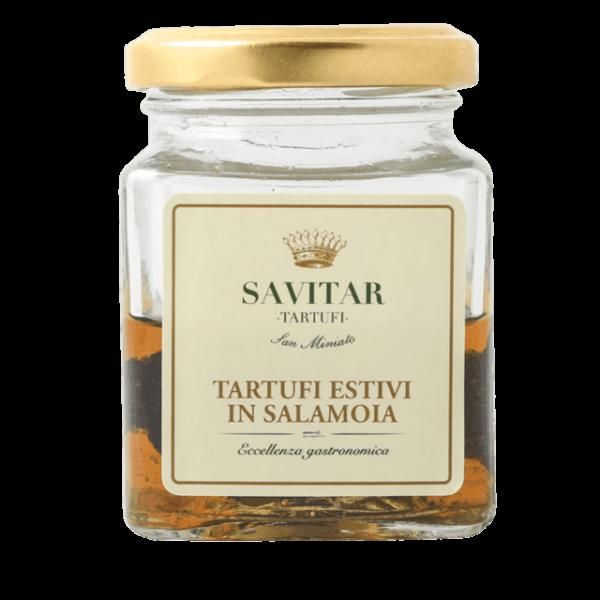 tartufo estivo in salamoia di savitar tartufi