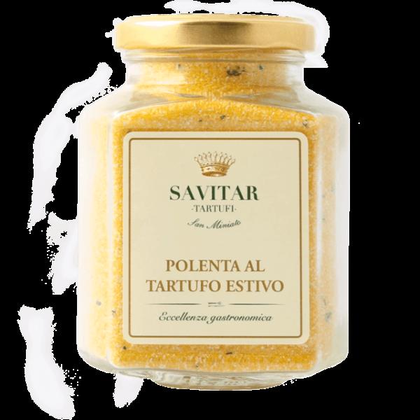 polenta al tartufo di savitar tartufi