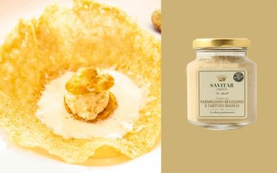 Parmigiano Reggiano and white truffle cream beignet