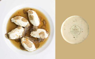 Gnudi di pecorino al tartufo in brodo di porcini Savitar